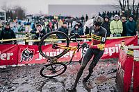 Belgian National CX Champion Toon Aerts (BEL/Telenet Fidea Lions)<br /> <br /> Superprestige cyclocross Hoogstraten 2019 (BEL)<br /> Elite Men's Race<br /> <br /> &copy;kramon