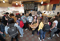 Chef's Corner<br /> The Marketplace in the Johnson Student Center (JSC) on Jan. 24, 2019, maintained by Campus Dining.<br /> (Photo by Marc Campos, Occidental College Photographer)