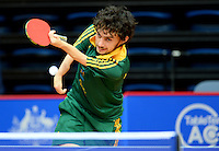 Jake Ballestrino (AUS)<br /> 2013 ITTF PTT Oceania Regional<br /> Para Table Tennis Championships<br /> AIS Arena Canberra ACT AUS<br /> Wednesday November 13th 2013<br /> © Sport the library / Jeff Crow