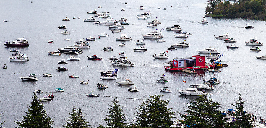 "Wendy's had a floating restaurant on Lake Washington, complete with ""drive through"" for sailgaters."