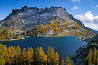 Perfection Lake & McClellan Peak, Enchantment Lakes, Alpine Lakes Wilderness, Washingto