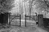 The gate to the African American cemetery at the University of Virginia in Charlottesville, Va. Photo/Andrew Shurtleff Photography, LLC