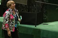 Nova York (EUA), 24/09/2019 - Assembléia Geral / ONU - Michelle Bachelet durante abertura da 74ª Assembleia Geral da Organização das Nações Unidas (ONU)  em Nova York nos Estados Unidos nesta terça-feira, 24. (Foto: William Volcov/Brazil Photo Press/Agencia O Globo) Mundo