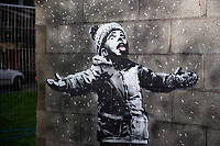 2018 12 19 Banksy, Taibach, Port Talbot, Wales, UK