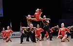 """07.12.2019,  GER; Tanzen, WDSF Weltmeisterschaft der Lateinformationen, Zwischenrunde, im Bild 1. TSZ Velbert (GER) mit dem Thema """"No limits"""" Foto © nordphoto / Witke *** Local Caption ***"""
