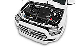 Car Stock 2016 Toyota Tacoma TRD Sport 4 Door Pick Up Engine  high angle detail view