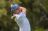 Rickie Fowler (USA) watches his tee shot on 11 during round 2 of the World Golf Championships, Mexico, Club De Golf Chapultepec, Mexico City, Mexico. 2/22/2019.<br /> Picture: Golffile | Ken Murray<br /> <br /> <br /> All photo usage must carry mandatory copyright credit (© Golffile | Ken Murray)