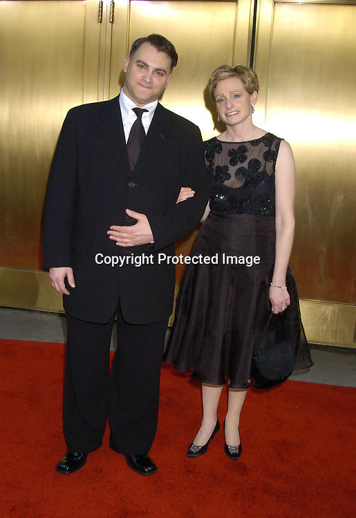 Michael Stuhlberg and sister Laurie ..arriving at the 59th Annual Tony Awards on June 5, 2005 at ..Radio City Music Hall. ..Photo by Robin Platzer, Twin Images