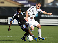 San Jose Earthquakes vs Vancouver Whitecaps, April 7, 2012