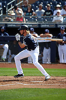 Travis Jankowski - San Diego Padres 2016 spring training (Bill Mitchell)