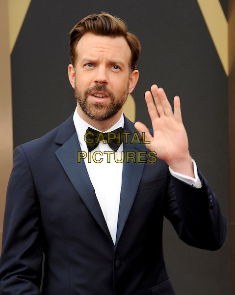 HOLLYWOOD, CA - MARCH 2: Jason Sudeikis arriving to the 2014 Oscars at the Hollywood and Highland Center in Hollywood, California. March 2, 2014.  <br /> CAP/MPI/mpi99<br /> &copy;mpi99/MediaPunch/Capital Pictures