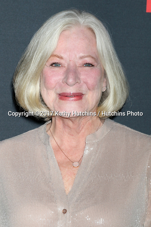 """LOS ANGELES - APR 8:  Debra Mooney at the """"Scandal"""" 100th Show Party at Fig & Olive Resturant on April 8, 2017 in West Hollywood, CA"""
