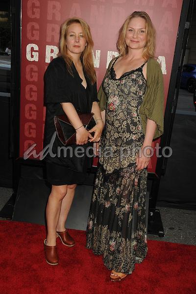 "10 June 2015 - Los Angeles, California - Beata Gardeler, Malin Levanon. LA Film Festival 2015 Opening Night Premiere of ""Grandma"" held at Regal Cinemas LA Live. Photo Credit: Byron Purvis/AdMedia"