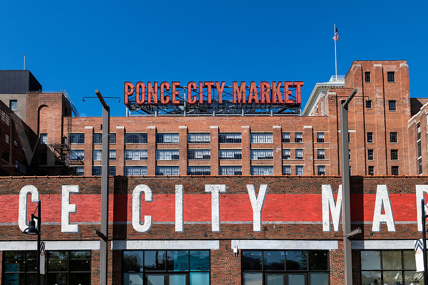 Ponce City Market, Atlanta, Georgia, USA.