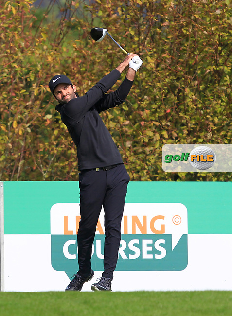 Joel Stalter (FRA) on the 6th tee during Round 4 of the KLM Open 2017 at the Dutch in the Netherlands. 17/09/2017<br /> Picture: Golffile | Thos Caffrey<br /> <br /> <br /> All photo usage must carry mandatory copyright credit     (&copy; Golffile | Thos Caffrey)