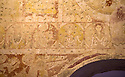 19/10/14 <br /> <br /> Painting shows Jesus (right) with apostles, holding dead serpents to represent the conquering of evil.<br /> <br /> How one man&rsquo;s twenty-two year crusade to save a derelict church was bedeviled with problems but proved to be anything but folly.<br /> <br /> An Anglo Saxon church where unique ancient wall paintings were uncovered will soon begin the next phase of restoration . Church Warden, Bob Davey, 85 still opens the church to visitors every day and continues to oversee the restoration.<br /> <br /> Full copy here:<br /> <br /> http://www.fstoppress.com/articles/bob-davey-st-marys-church/<br /> All Rights Reserved - F Stop Press.  www.fstoppress.com. Tel: +44 (0)1335 300098