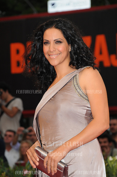 Ruba Blal at the Miral premiere during the 67th annual Venice Film Festival..September 2, 2010  Venice, IT.Picture: Anne-Marie Michel / Featureflash