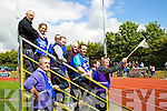 Stewards at the finish line at Kerry Community Games finals at Castleisland on Sunday.