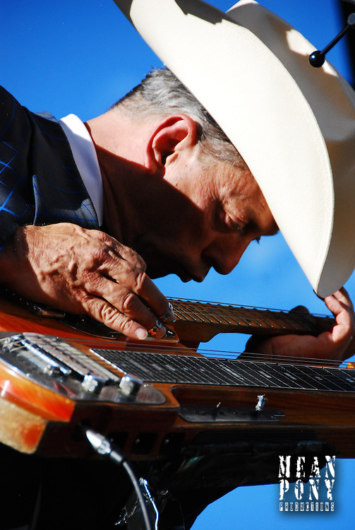 Junior Brown @ the Way Out West Fest, Snowbasin, Utah 8.08.10