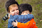 Cousins, at the ranch, San Luis Obispo, California (Evan and Peyton)