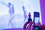 Lego David Bowie visits Testeen 2017 - Eddie Peake 'Concrete Pitch', a new exhibition, in the South Gallery, White Cube Bermondsey.