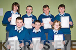 St Michael's College, Listowel: Sudents from St Michael's College who received their Junior cert results on Wednesday: Front ;Daniel Mulvihill, Sean Collins & Edvinas Kruminis. Back : Kieran Enright, Eddie Horgan, Aaron Downey & Edward Enright.