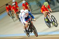 Picture by Alex Whitehead/SWpix.com - 21/03/2018 - Cycling - 2018 UCI Para-Cycling Track World Championships - Rio de Janeiro Municipal Velodrome, Barra da Tijuca, Brazil - Great Britain's Matt Rotherham and Neil Fachie.