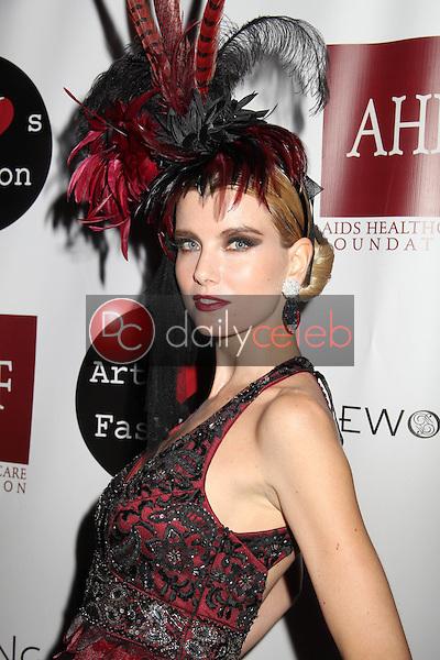 "Eugenia Kuzmina<br /> at the Sue Wong ""Mythos and Goddesses"" Fashion Show, Taglyan Complex, Los Angeles, CA 03-09-15<br /> David Edwards/DailyCeleb.com 818-249-4998"