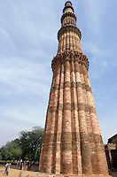 Menar e Qutub in Delhi, India. The higher Menar in the world, 70 meters.