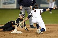 SAN ANTONIO, TX - FEBRUARY 14, 2014: The Wichita State University Shockers versus the University of Texas at San Antonio Roadrunners Softball at Roadrunner Field. (Photo by Jeff Huehn)