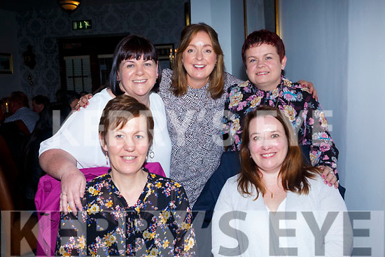 Friends from Bus Éireann, enjoying a night out at Bella Bia's on Saturday Front l-r Margaret Kiely, Ann Marie Crowley, Linda Ring, Deirdre Howe, Helen Moriarty,