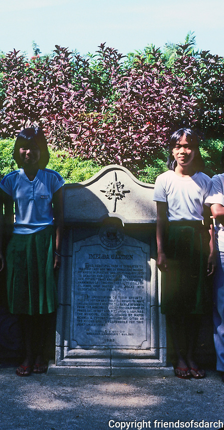 Philippines: Agoo, Plague to Mrs. Marcus. Photo '82.