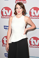 Charlotte Ritchie<br /> arriving for the TV Choice Awards 2017 at The Dorchester Hotel, London. <br /> <br /> <br /> &copy;Ash Knotek  D3303  04/09/2017