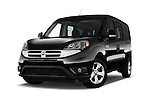 Stock pictures of low aggressive front three quarter view of 2015 Ram Promaster City SLT 5 Door Mini Mpv Low Aggressive