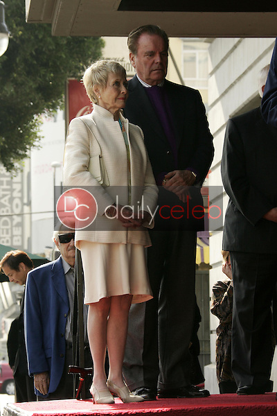 Robert Wagner and Jane Powell<br />at the ceremony honoring Robert Osborne with a star on the Hollywood Walk of Fame. Hollywood Boulevard, Hollywood, CA. 02-01-06<br />Dave Edwards/DailyCeleb.com 818-249-4998