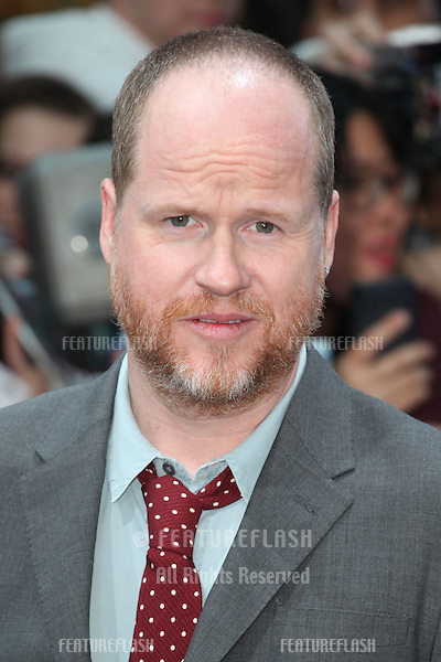 Joss Whedon arriving for the Avengers: Age Of Ultron premiere, at Westfield Shepherd's Bush, London. 21/04/2015 Picture by: Alexandra Glen / Featureflash