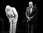 Brian Dennehy & Christopher Plummer during the Opening Night Curtain Call for INHERIT THE WIND at Bryant Park Grill in New York City.<br />April 12, 2007