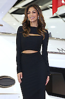 Nicole Scherzinger launches the new Sunseeker Predator 57 yacht as part of the London Boat Show<br /> London. 09/01/2015 Picture by: James Smith / Featureflash