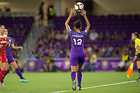 Orlando, FL - Tuesday August 08, 2017: Kristen Edmonds during a regular season National Women's Soccer League (NWSL) match between the Orlando Pride and the Chicago Red Stars at Orlando City Stadium.