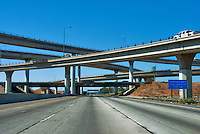 Interstate Highway, 210  California, east-west freeway, Interchange
