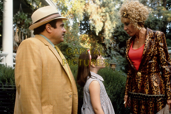 Matilda (1996) <br /> Danny DeVito, Mara Wilson &amp; Rhea Perlman<br /> *Filmstill - Editorial Use Only*<br /> CAP/KFS<br /> Image supplied by Capital Pictures