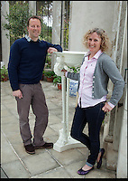 BNPS.co.uk (01202) 558833<br /> Picture: Bonhams<br /> <br /> William Copeland and wife Jennifer<br /> <br /> It is the ultimate garden sale -- The aristocrat Cunliffe-Copeland family are auctioning off millions of pounds of antiques in a unique sale of the entire contents of their stately home Trelissick House near Truro in Cornwall. For generations the family have filled the magnificent The 18th century manor with treasures acquired from travels around the globe.<br /> <br /> 58 years ago the house was left to the National Trust on the condition members of the family could carry on living in the property. But the current incumbent, William Copeland and wife Jennifer, have decided to buy a normal-sized family home and are unable to take the hundreds of heirlooms with them. So they are holding a two-day sale of ancient ornaments, paintings, furniture, jewellery, silverware, books, rugs and wine in the grounds of Trelissick House, near Truro, later this month, and hope to raise &pound;3million