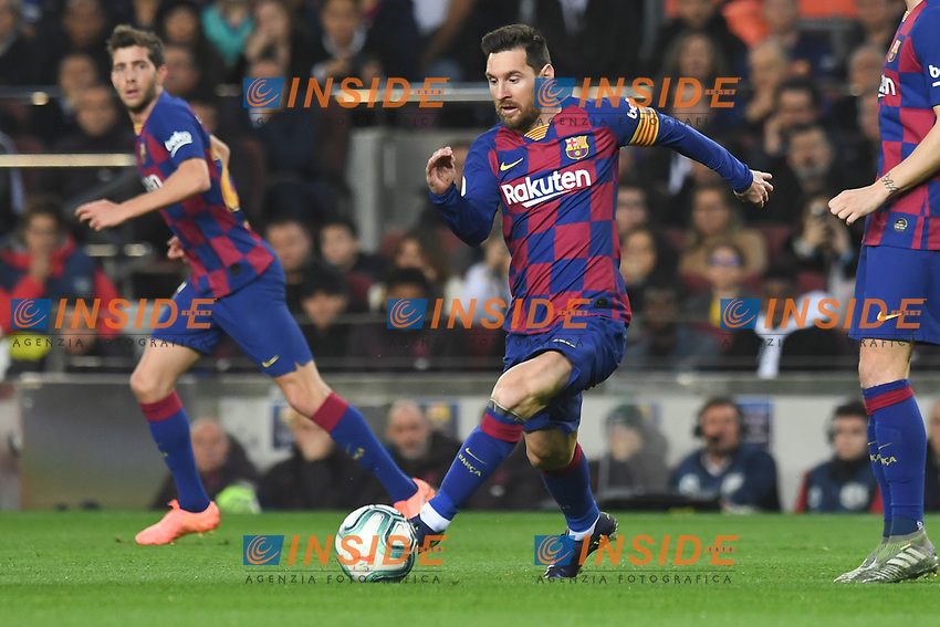 Lionel Messi <br /> <br /> 18/12/2019 <br /> Barcelona - Real Madrid<br /> Calcio La Liga 2019/2020 <br /> Photo Paco Largo Panoramic/insidefoto <br /> ITALY ONLY