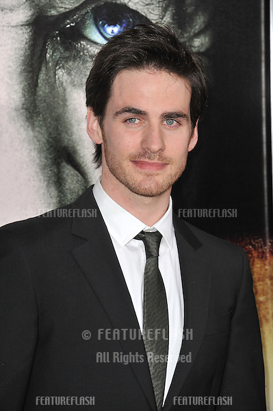 "Colin O'Donoghue at the world premiere of his new movie ""The Rite"" at Grauman's Chinese Theatre, Hollywood..January 26, 2011  Los Angeles, CA.Picture: Paul Smith / Featureflash"