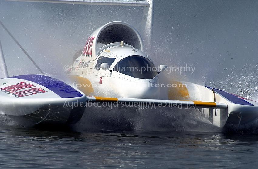"""Mike Hanson, U-9 """"Jones Racing"""""""