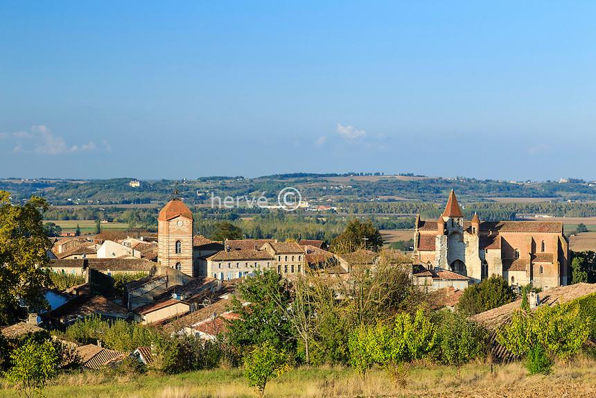 France, Tarn-et-Garonne (82), Auvillar, labellis&eacute; Les Plus Beaux Villages de France  // France, Tarn et Garonne, Auvillar, labelled Les Plus Beaux Villages de France (The Most beautiful<br /> Villages of France)