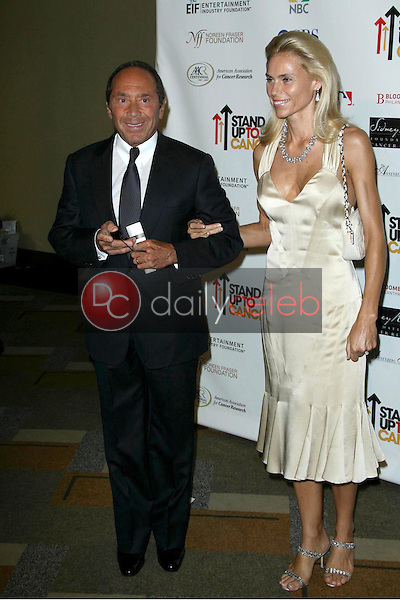 Paul Anka and Anna Aberg<br />at Stand Up To Cancer. Kodak Theater, Hollywood, CA. 09-05-08<br />Dave Edwards/DailyCeleb.com 818-249-4998
