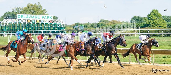 Roman Magic winning at Delaware Park on 9/19/15