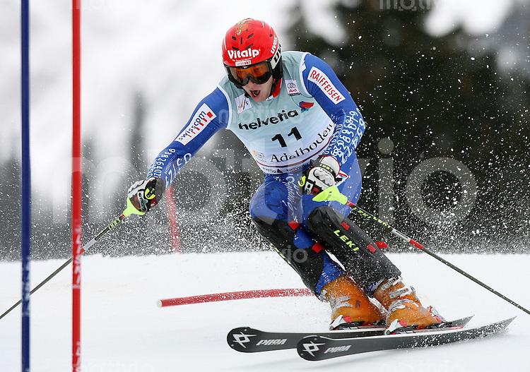 Ski Alpin;  Saison 2006/2007   06.01.2007 42. Weltcup Slalom  Herren Marc Gini (SUI)