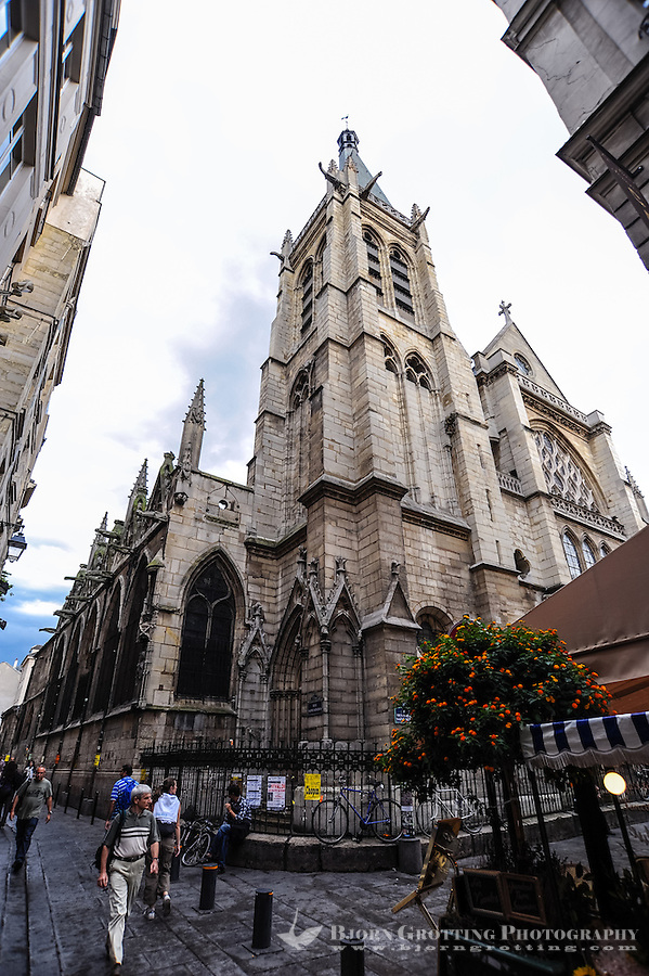 The Church of Saint-Séverin is a Roman Catholic church in the Latin Quarter of Paris, France.
